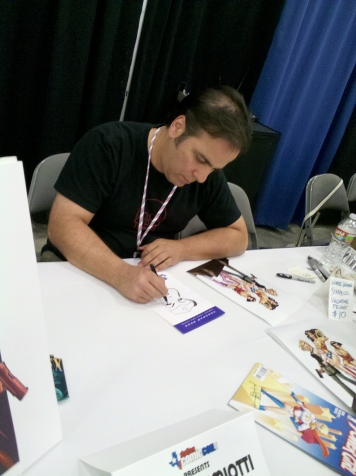 Jimmy Palmiotti Sketching for Nerd Heard